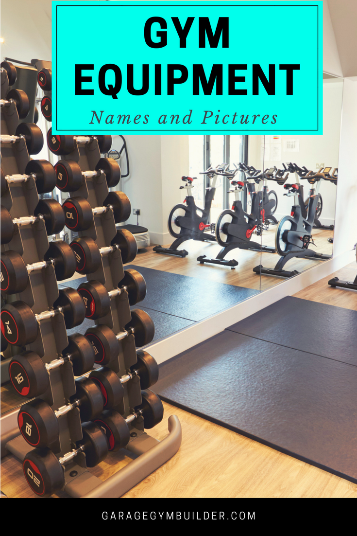 Gym equipment names and pictures part two december