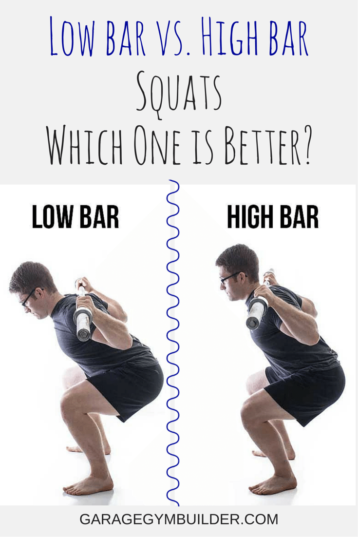 low bar vs high bar squat