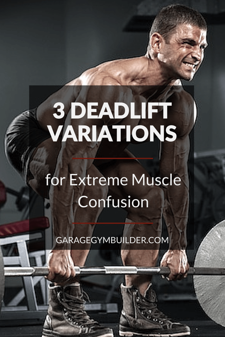 3 deadlift variations