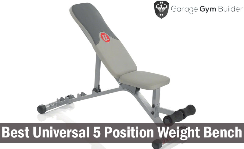 Best Universal 5 Position Weight Bench