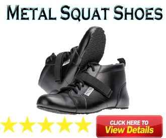 Metal Squat Shoes