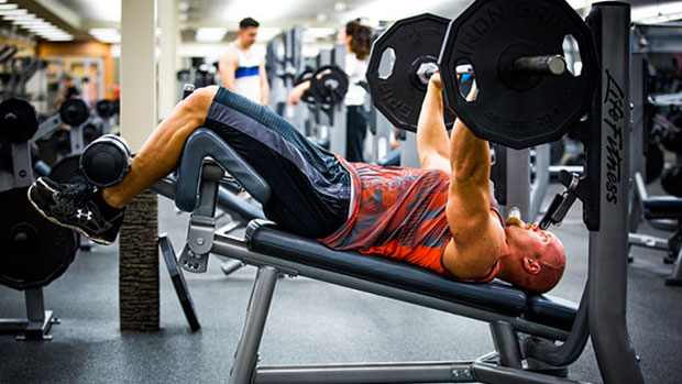 Declining Bench Press