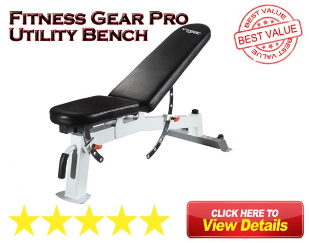 Fitness gear pro utility bench manual berry