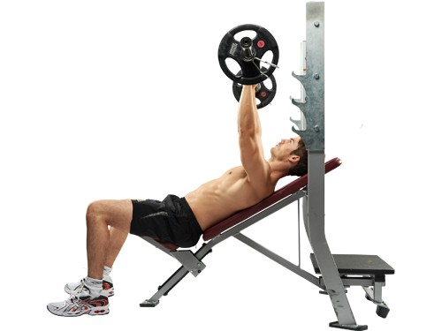 Image Gallery incline bench press