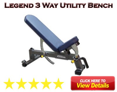 Legend 3 Way Utility Bench