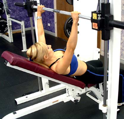 extra muscles inclined bench