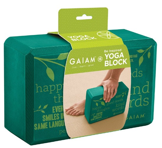 solid yoga blocks