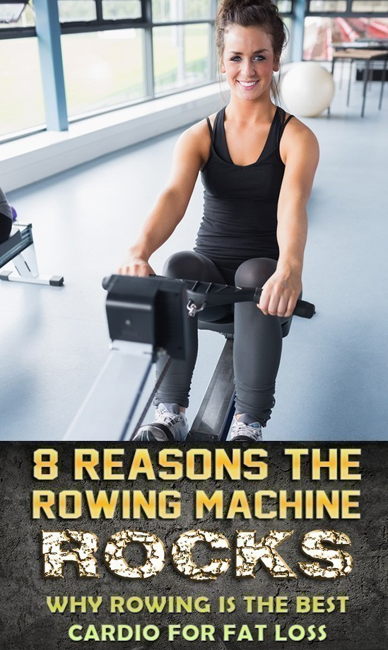 8 of the top rowing machine benefits