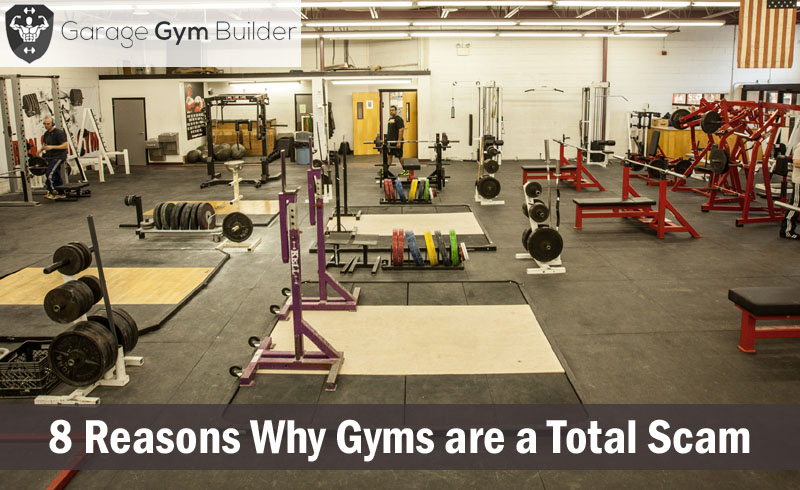 Reasons why gyms are a total scam