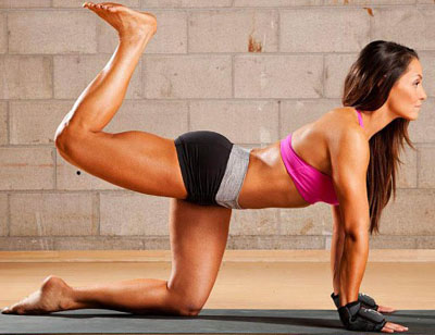 Glute exercise programs
