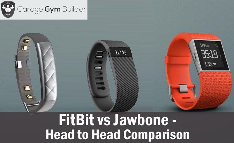 Fitbit vs. Jawbone Fitness and Activity Tracker October 2018