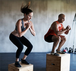 Plyometric Box Jumps
