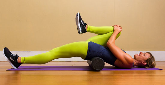 Foam Roller Back Stretch