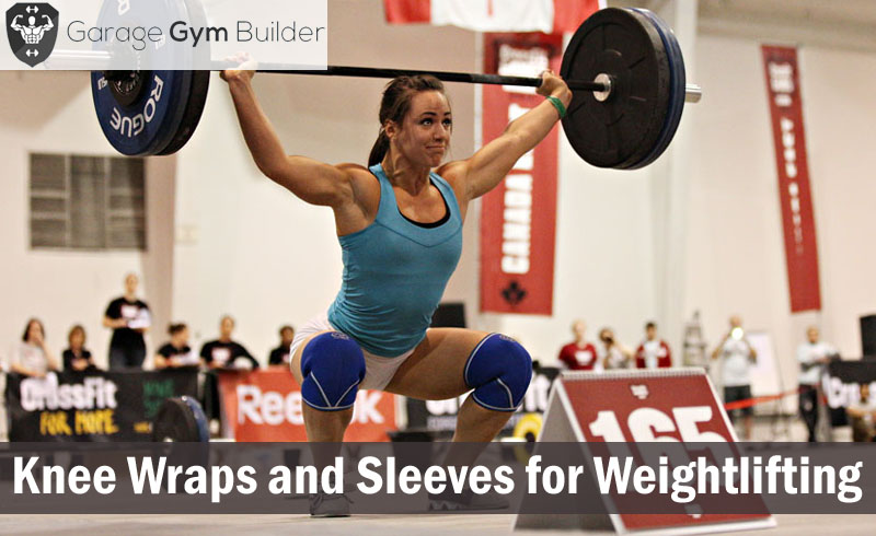 Knee Wraps and Sleeves for Weightlifting