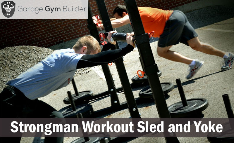 Strongman Workout Sled and Yoke Review