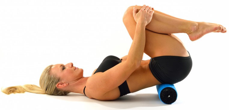 Foam Roll Lower Back