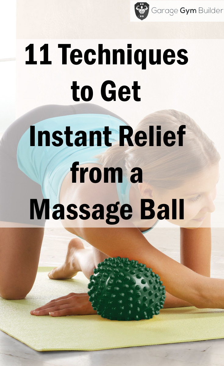 Instant Relief from a massage ball