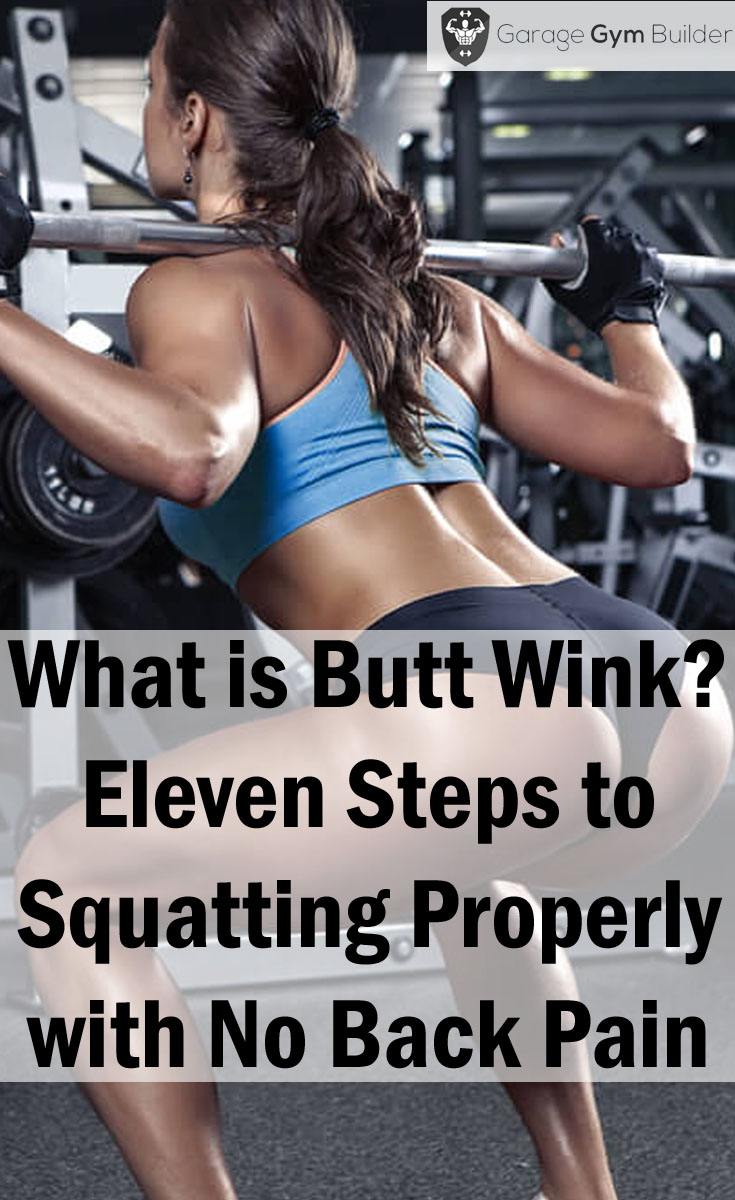 Squatting Properly with No Back Pain