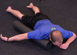 Foam Rolling Upper Body