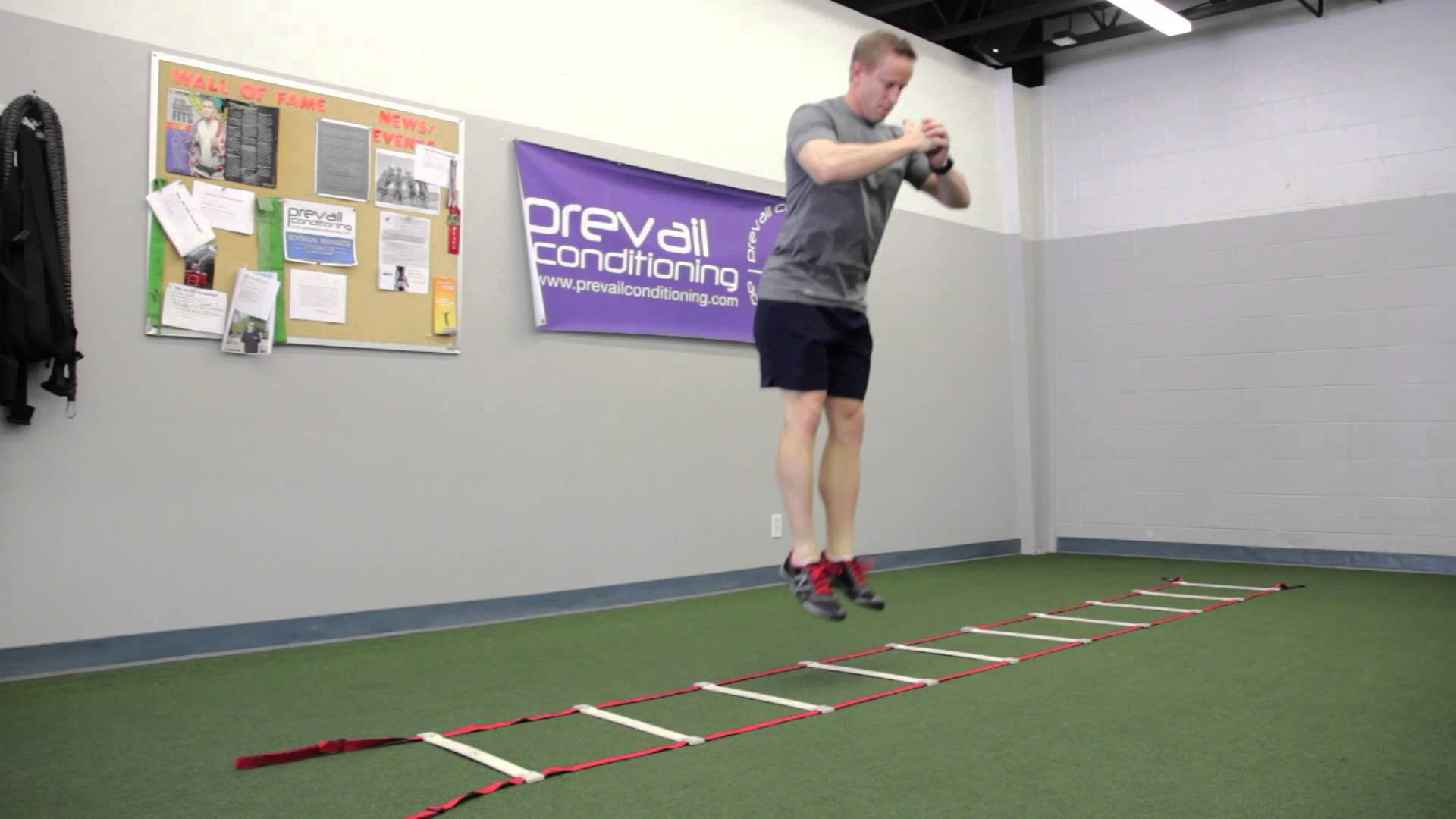 Increase Footwork Speed With Agility Ladder Workouts