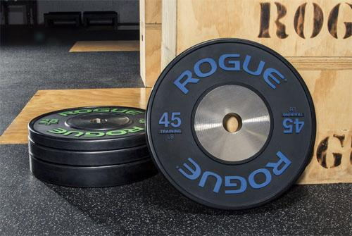 Rogue Black Training LB Bumper Plates