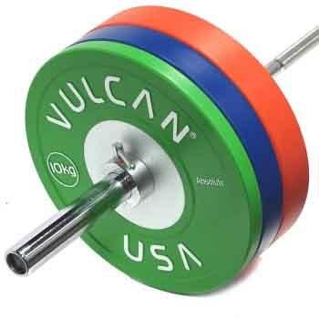 vulcan barbell weight set