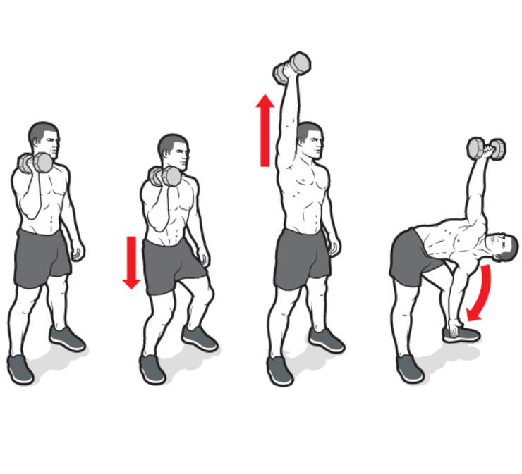 Free Weight Dumbbell Back Exercises: Workout With Just A Single Pair Of Dumbbells