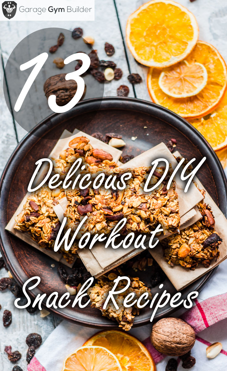Delicious Workout Snack DIY Recipes
