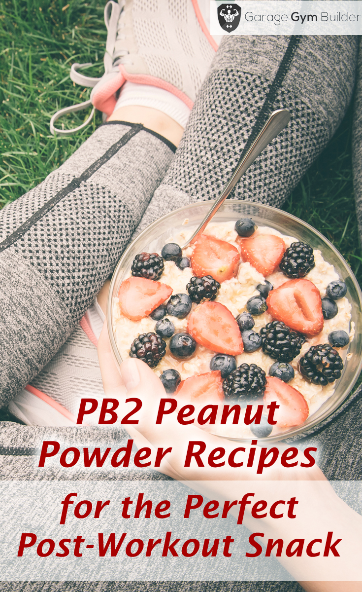 Pb peanut powder recipes for the perfect post workout