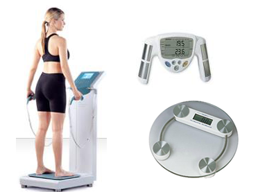 bioelectrical impedance body fat analysis