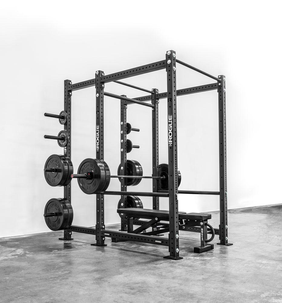 The Rogue RML 690 Power Rack Up Close