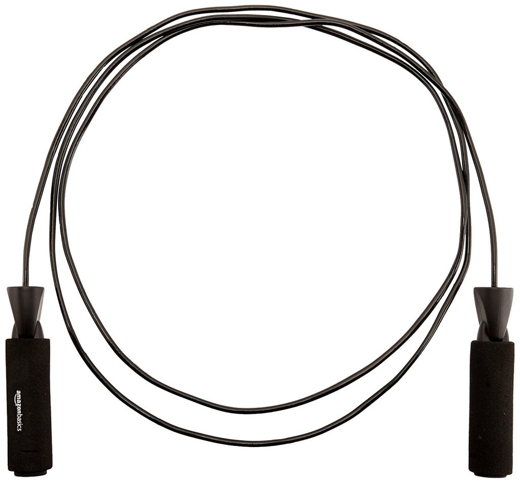 Amazon Basics Adjustable Jump Rope