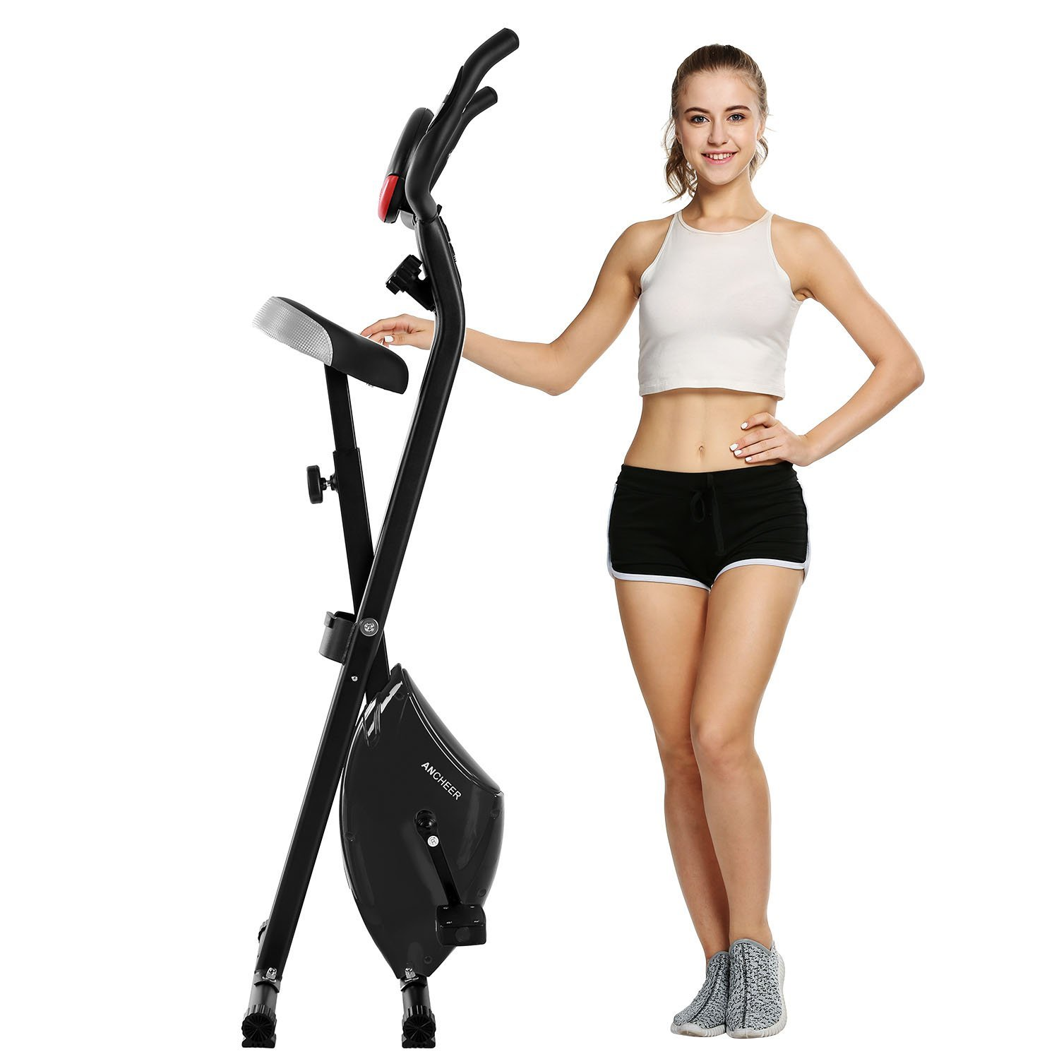 Ancheer Upright Exercise Bike