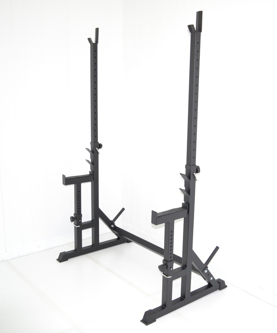 Amazing Safety Stands For Bench Press Part - 7: Atlas Squat Rack With Bench Press Safety Stands