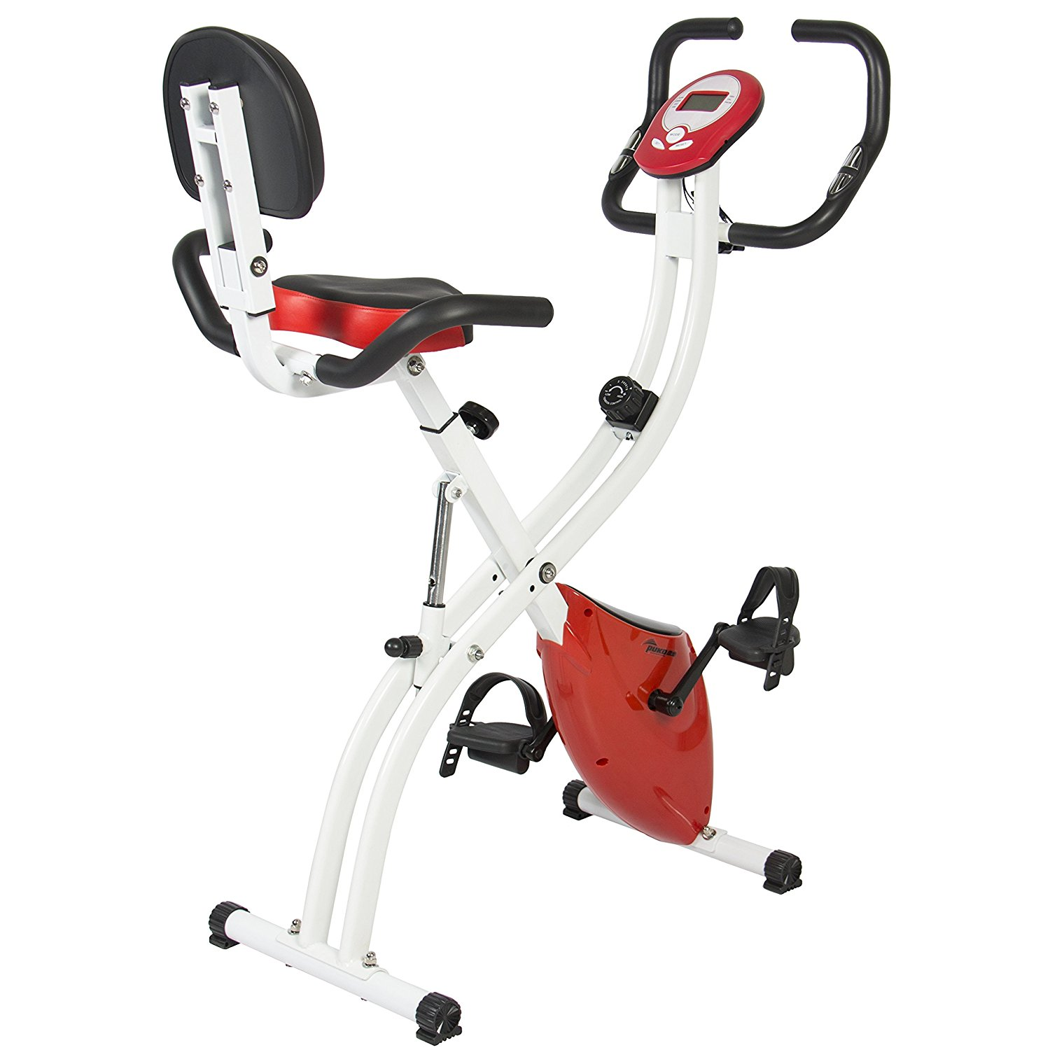 Best Choice Products Folding Adjustable Magnetic Upright Exercise Bike