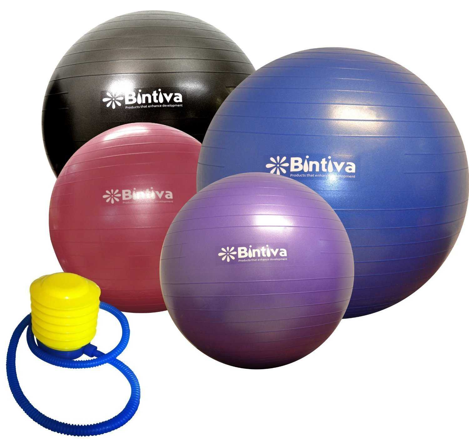 Exercise Ball 75cm Anti Burst: Best Anti-burst Exercise Balls Review 2018