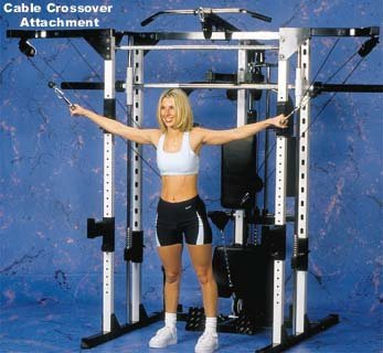 Caribou III Home Gym & Smith Machine