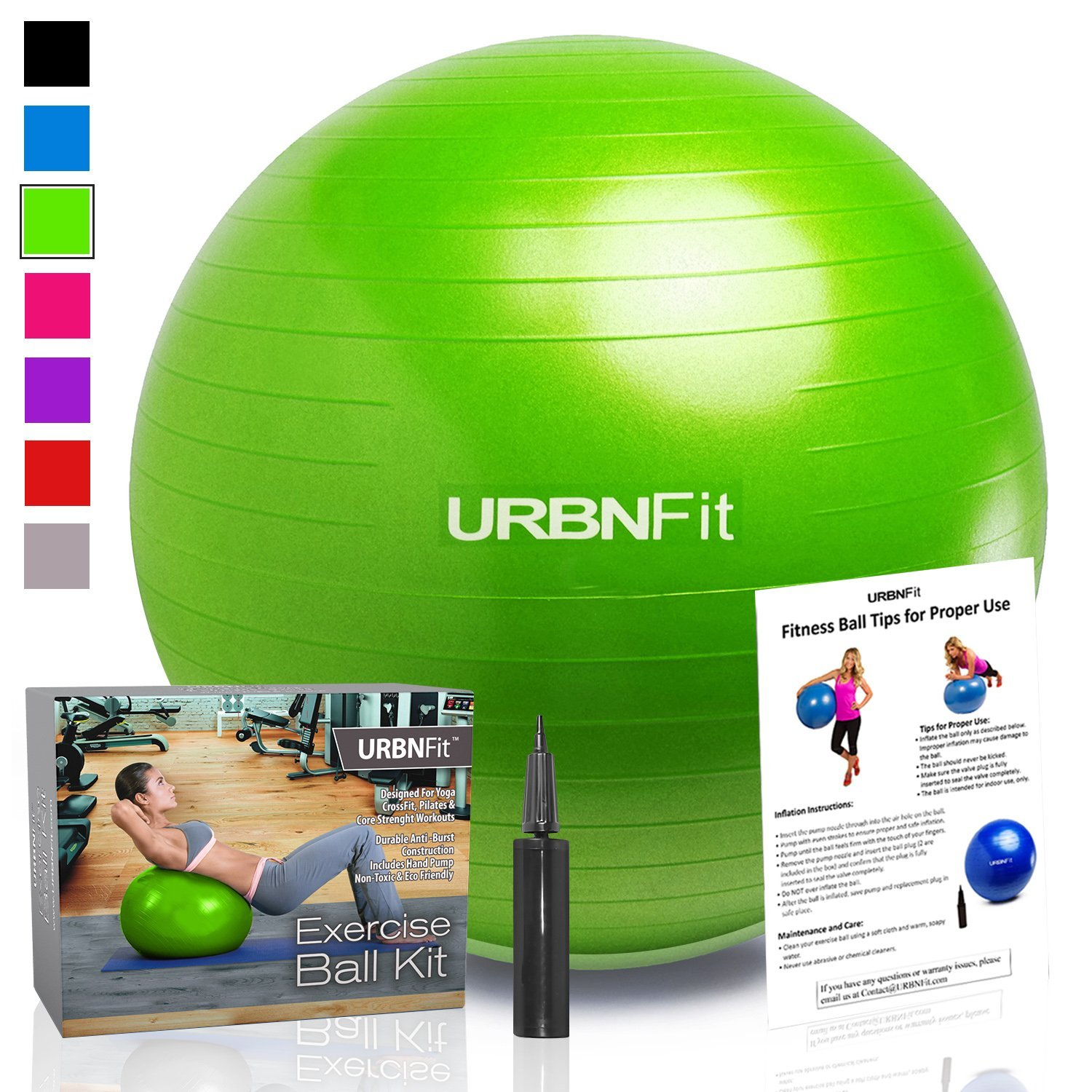 Exercise Ball (Multiple Sizes)