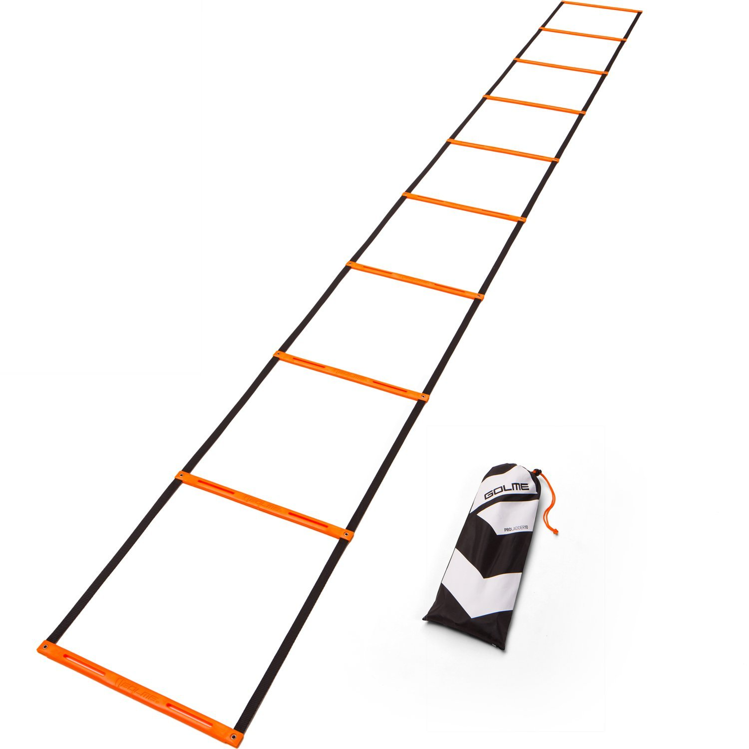 GOLME PRO Speed + Agility Ladder with...