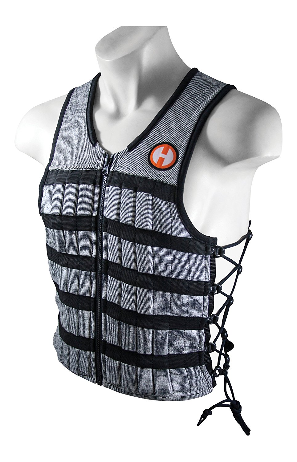 Hyperwear Hyper Vest PRO Unisex 10-Pound Adjustable Weighted Vest