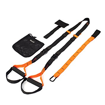 KYLIN SPORT Heavy Duty Pro Trainer Straps For Home Workout GYM MMA Resistance Training Crossfit