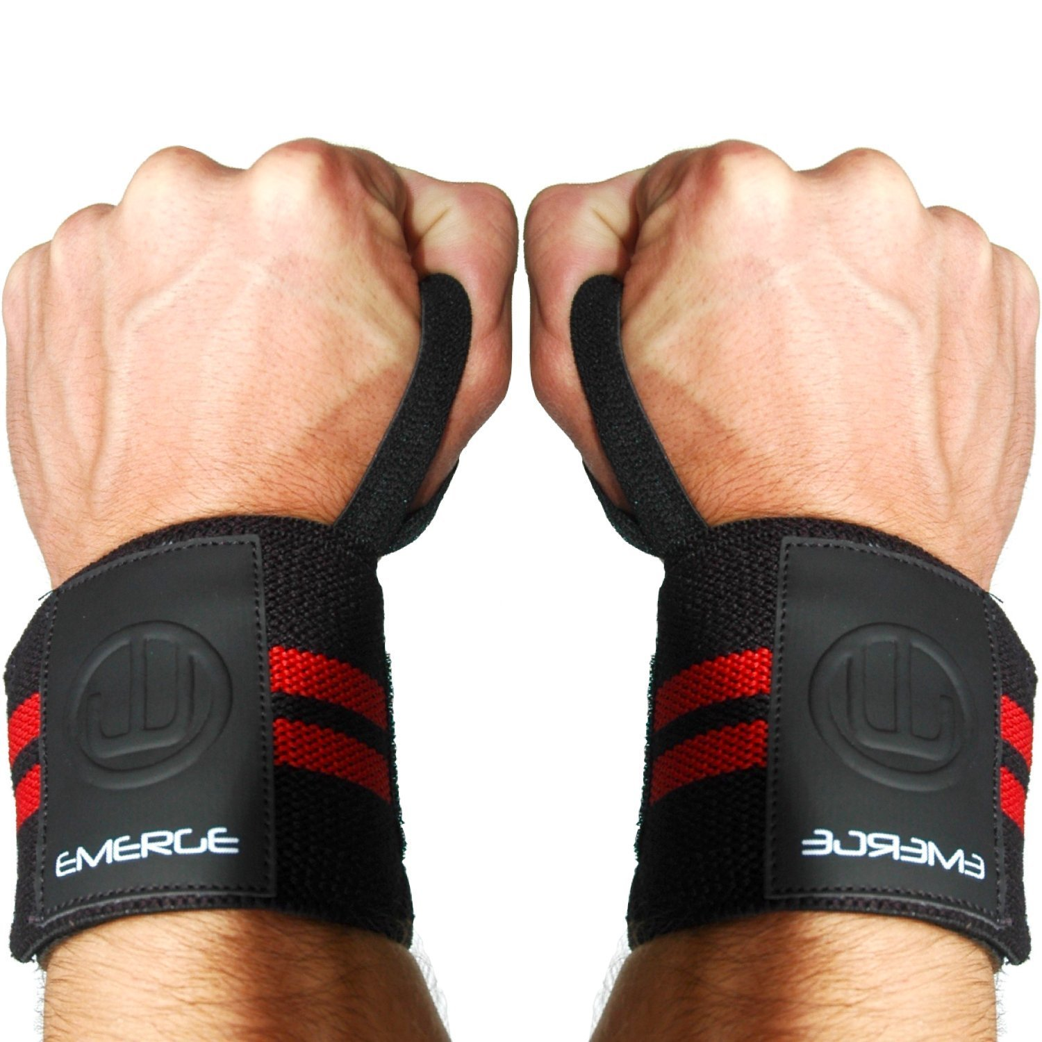Lifting Wrist Wraps by Emerge