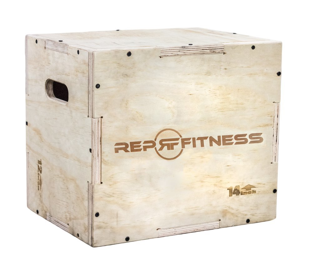 Rep 3 in 1 Wood Plyo Box