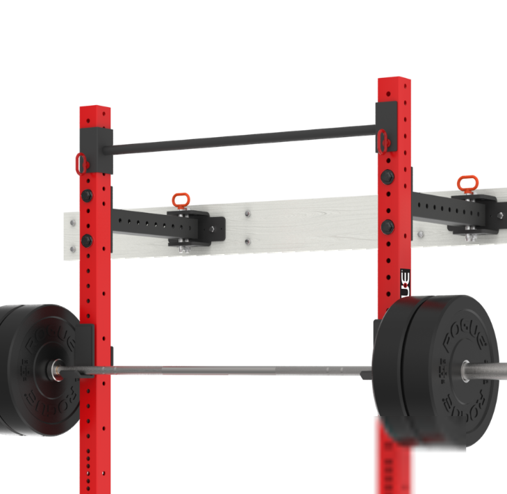 Rogue RMC-3WC fold-back power rack