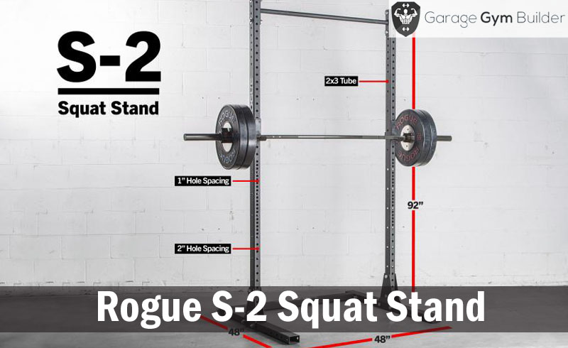 Rogue S-2 Squat Stand  Review