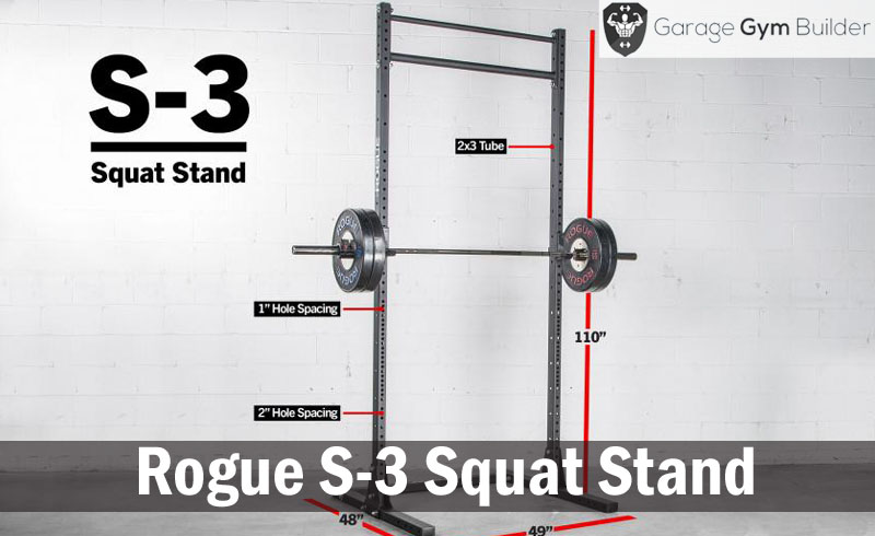 Rogue S-3 Squat Stand Review