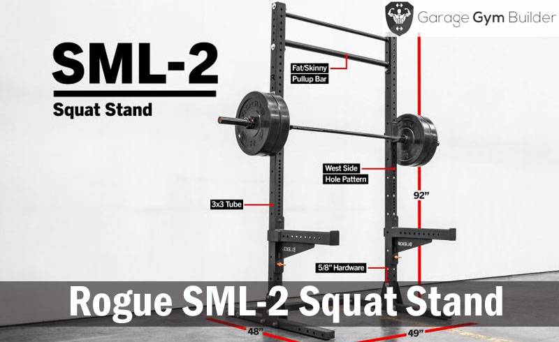 Rogue SML-2 Squat Stand Review