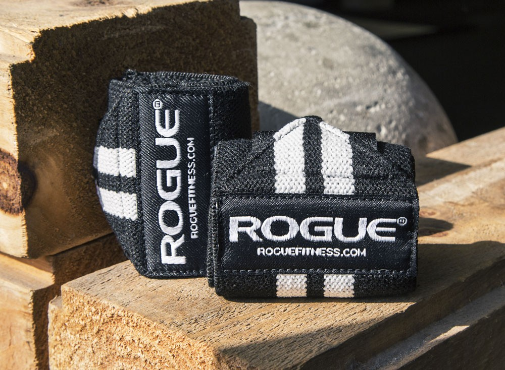 Rogue Wrist Wraps (White Series)