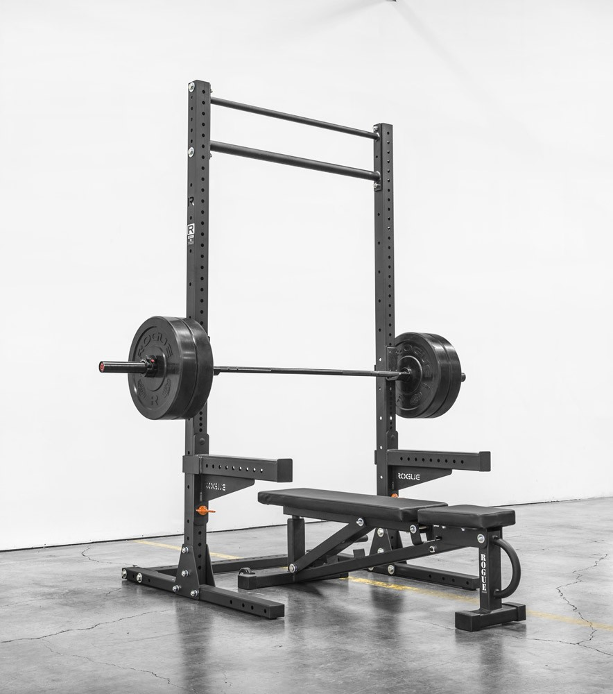 Safety Stands For Bench Press Part - 44: SML-2 Rogue 90-Inch Monster Squat Rack