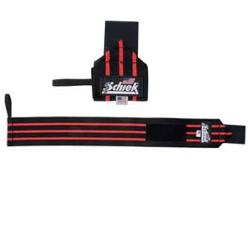 Schiek Black Line Heavy Duty Wrist Wraps